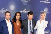 Eric Mabius is seen attending the Hallmark Channel and Hallmark Movies & Mysteries summer 2019 TCA press tour Event at Private Residence in Los Angeles, California.