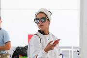 Halsey Is Seen At LAX