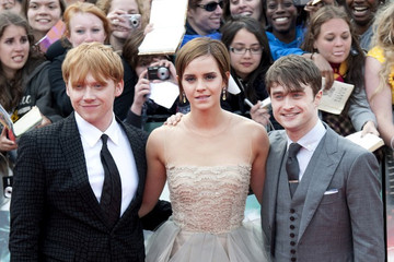 Daniel Radcliffe Emma Watson Harry Potter And The Deathly Hallows; Part 2