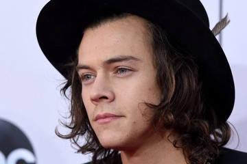 Harry Styles Arrivals at the American Music Awards