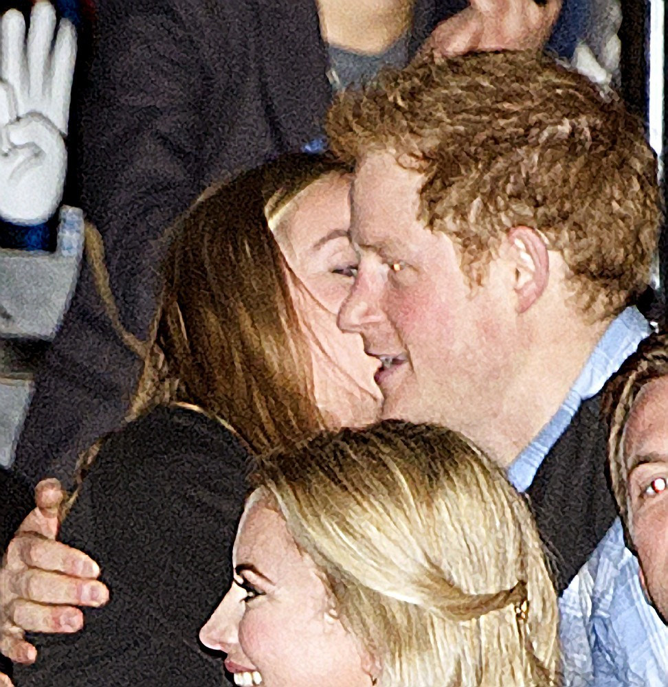 Prince Harry And Girlfriend At An