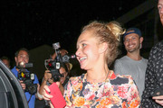 Hayden Panettiere Outside Craig's Restaurant In West Hollywood