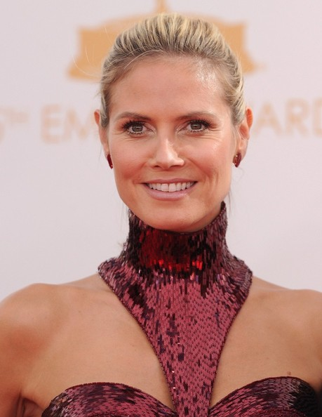 Heidi Klum - Arrivals at the 65th Annual Primetime Emmy Awards — Part 2