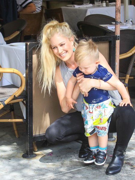 Heidi Montag Is Seen In Beverly Hills