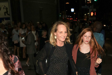 Helen Hunt Stars Visit 'Hamilton' at Pantages Theatre