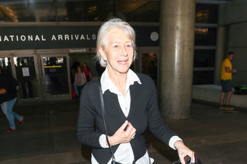 Helen Mirren Helen Mirren At LAX