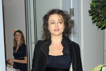 Helena Bonham Carter Helena Bonham Carter Enjoys a Night Out