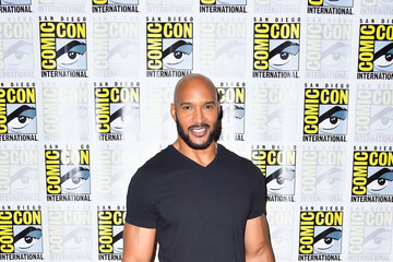 Henry Simmons 2019 Comic-Con International - 'Agents of S.H.I.E.L.D.' Photo Call