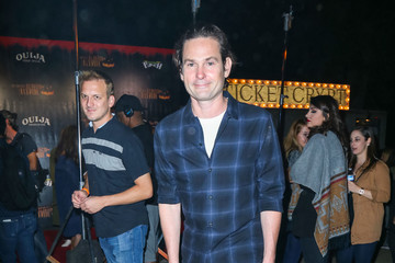 Henry Thomas Celebrities Are Seen at Haunted Hayride at Griffith Park