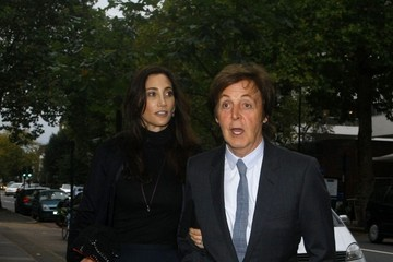 Paul+McCartney in Paul McCartney and Nancy Shevell Arrive for Their Wedding Ceremony