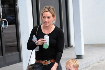 Hilary Duff Hilary Duff Out with Her Family