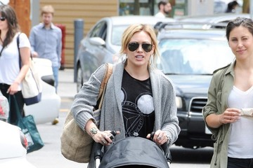 Hilary Duff Hilary Duff Out with Luca