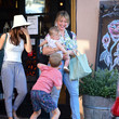 Hilary Duff Hilary Duff And Justin Bieber Seen In Los Angeles On July 12, 2019