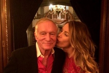 Hugh Hefner Celebrity Social Media Pics