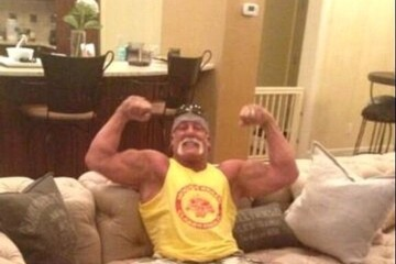 Hulk Hogan Celebrity Social Media Pics