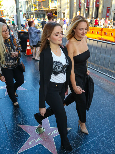 Joey King and Hunter King Spotted Outside TCL Chinese Theatre []