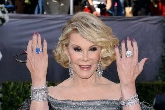 Joan Collins 78th Annual Academy Awards