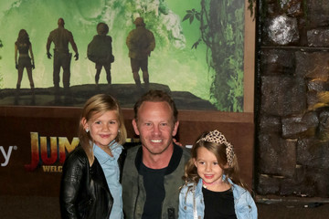Ian Ziering Premiere of Columbia Pictures' 'Jumanji: Welcome to the Jungle'