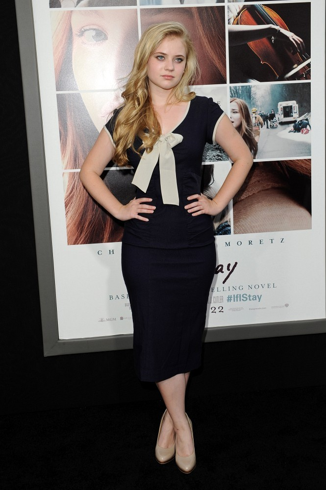 Sierra Mccormick Photos Photos If I Stay Premieres In