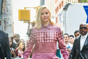 Iggy Azalea is seen out in New York City on August 21, 2018.