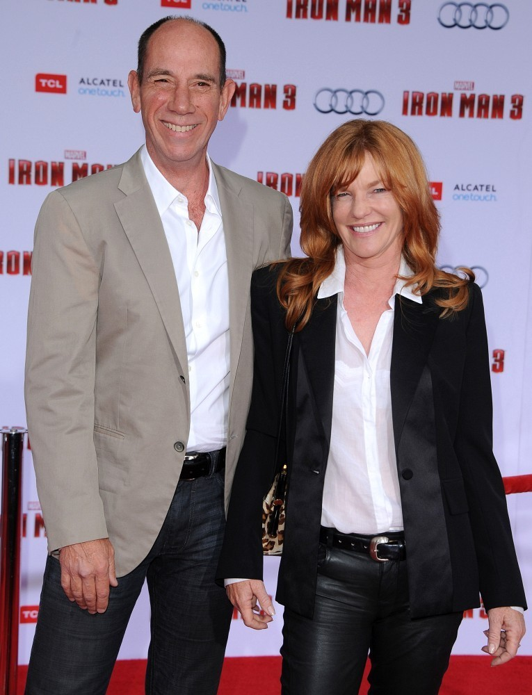 Miguel Ferrer with cool, beautiful, Wife Lori Weintraub