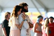 Isabel Lucas and Angus Stone on day three of the Coachella Valley Music and Arts Festival.