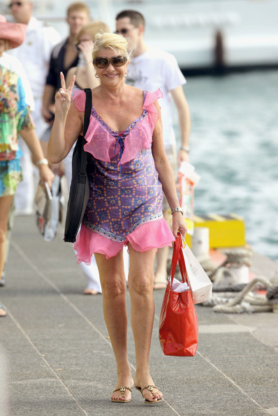 Ivana Trump Photos Photos Ivana Trump In St Barths Zimbio