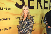 Christina Anstead  is attending Discovery's 'Serengeti' premiere at Wallis Annenberg Center for the Performing Arts.
