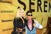 Corey Feldman and Courtney Anne Mitchell are attending Discovery's 'Serengeti' premiere at Wallis Annenberg Center for the Performing Arts.