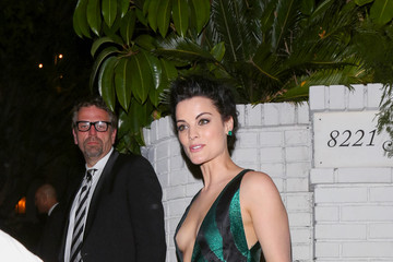 Jaimie Alexander Celebrities Arrive to the WMA Golden Globes Party