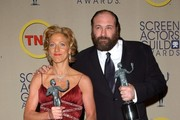 (File photos) 'Soprano' actor James Gandolfini dies at age 51 from a suspected heart attack on June 19, 2013.