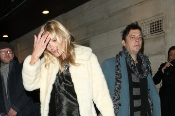 Jamie Hince Kate Moss and Jamie Hince Watch 'The Book of Mormon'
