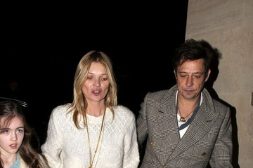 Jamie Hince Kate Moss and Jamie Hince Out in Paris