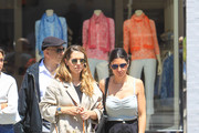 Jamie-Lynn Sigler shopping in Beverly Hills