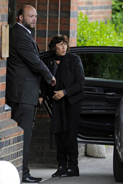 Arrivals at Amy Winehouse's Funeral