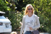 January Jones Hangs with Xander