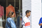 Jared Eng shopping in Beverly Hills