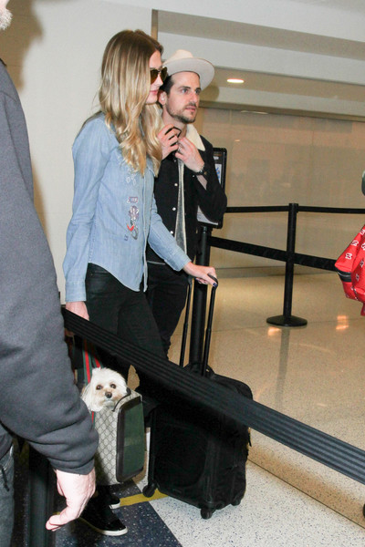 Jared Followill and Martha Patterson Are Seen at LAX []