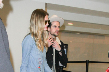 Jared Followill Jared Followill and Martha Patterson Are Seen at LAX