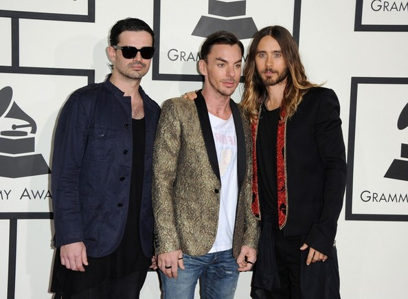 Arrivals at the Grammy Awards