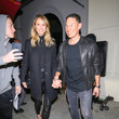 Jared Pobre Stacy Keibler Hits Craig's Restaurant In West Hollywood