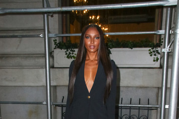 Jasmine Tookes Georgia Fowler Attends As The Worldwide Editors Of Harper's Bazaar Celebrate ICONS By Carine Roitfeld