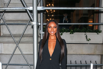 Jasmine Tookes Jasmine Tookes Attends As The Worldwide Editors Of Harper's Bazaar Celebrate ICONS By Carine Roitfeld