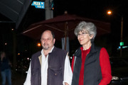 Jason Alexander And Daena Title Are Seen Outside Craig's