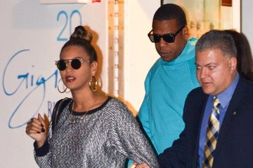 Jay-Z Beyonce Knowles Beyonce and Jay-Z at Dinner