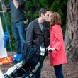 Jayma Mays Scenes from the 'Glee' Set