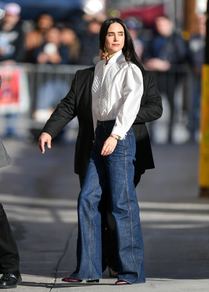 Jennifer Connelly At 'Jimmy Kimmel Live'