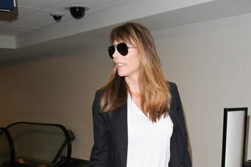 Jennifer Flavin Jennifer Flavin Is Seen at LAX