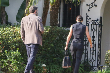 Jennifer Garner Ben Affleck and Jennifer Garner Are Seen Out