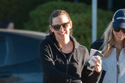Jennifer Garner Grabs Her Morning Coffee